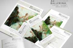 Åh Ballerina – Verdensudstilling ved mund- og fodmalende kunstnere i Rådhussalen.
