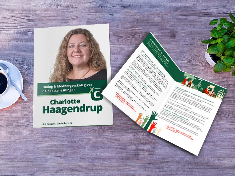 Charlotte Haagendrup, Konservative folder