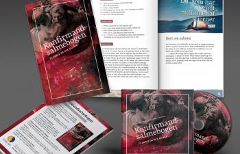 Konfirmandsalmebogen, CD og flyer