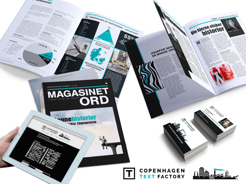 copenhagen text factory, identitet