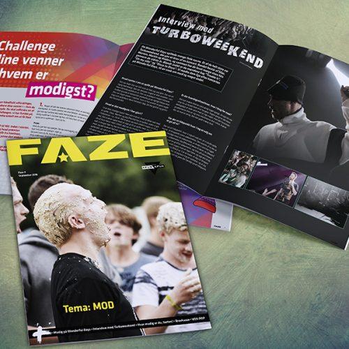 Layout af jeres medlemsblad - FAZE